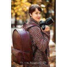 Большой рюкзак из кожи